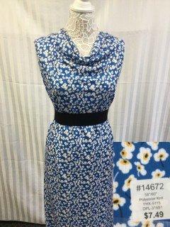 14672 YHX-5115 Blue White Yellow