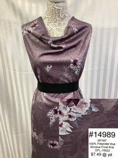 14989 Window Frost Knit Purple
