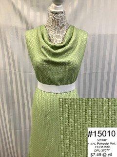 15010 Fall Glitter Sweater Knit Green