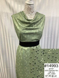 14993 CBL Knit Green