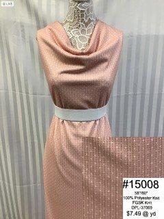15008 Fall Glitter Sweater Knit Pink