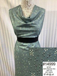 14999 CBL Knit Blue Sage