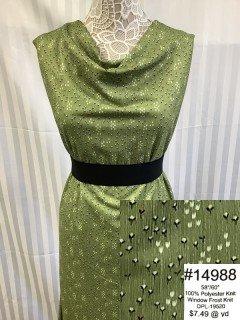 14988 Window Frost Knit Green