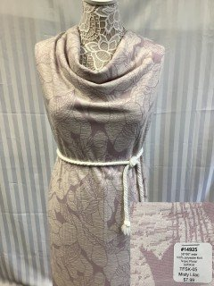 14925 Tropic Floral Soft Knit Misty Lilac