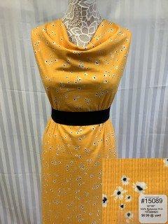 15089 Knit Yellow White