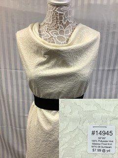 14945 Window Frost Knit Sunbeam