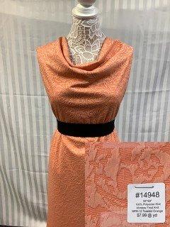 14948 Window Frost Knit Toasted Orange