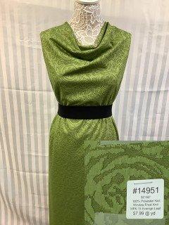 14951 Window Frost Knit Evenign Leaf