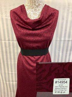 14954 Window Frost Knit Deep Port