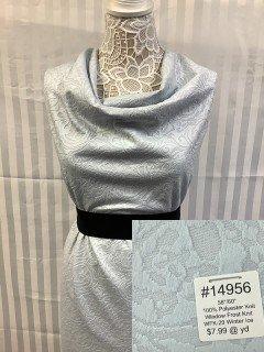 14956 Window Frost Knit Winter Ice