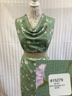 15279 Knit Green