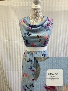 15272 Knit Blue