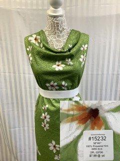 15232 WFK Knit Bright Green