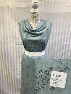 15343 Ribbed Knit Medium Teal