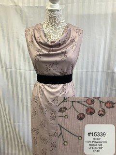 15339 Ribbed Knit Pink