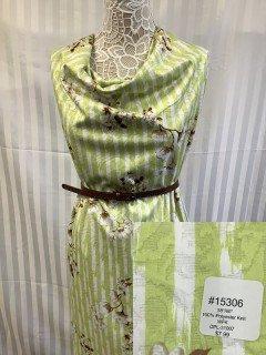15306 WFK Knit Light Green White