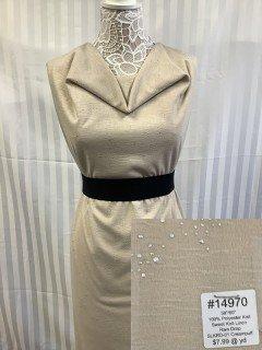 14970 Sweet Knit Linen Rain Drop Creampuff
