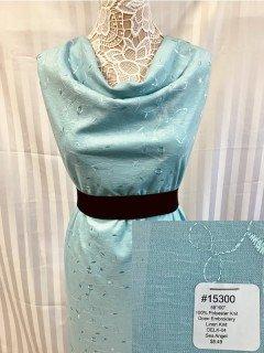 15300 Open Embroidery Linen Knit Sea Angel