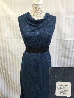 14470 Fall Glitter Sweater Knit Embossed