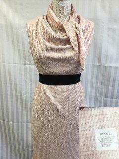 14465 Fall Glitter Sweater Knit Embossed