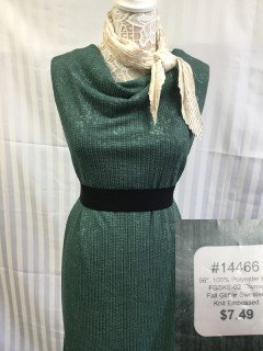 14466 Fall Glitter Sweater Knit Embossed