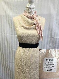14526 Twinkle Flower Jacquard Knit