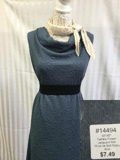 14494 Twinkle Flower Jacquard Knit