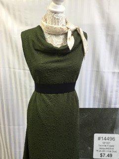 14496 Twinkle Flower Jacquard Knit