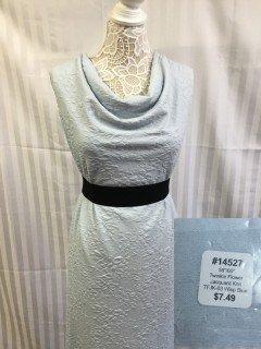 14527 Twinkle Flower Jacquard Knit