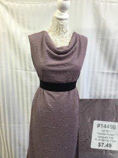 14498 Twinkle Flower Jacquard Knit