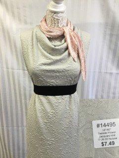 14495 Twinkle Flower Jacquard Knit