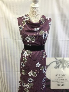 14542 Classic Look Knit Emboss