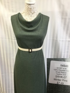 14546 Small Ribbed Heather Knit