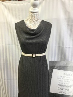 14549 Small Ribbed Heather Knit