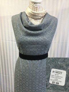 14623 Silver Cashmere Lattice Winter Teal