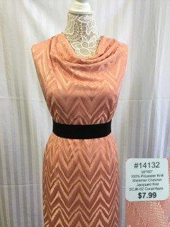 14132 Shimmer Chevron Jacquard Knit