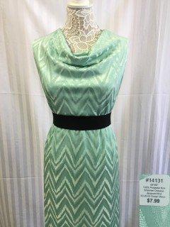 14131 Shimmer Chevron Jacquard Knit
