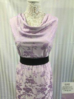 14089 Jacquard Vintage Clipped Rose Knit