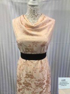 14086 Jacquard Vintage Clipped Rose Knit