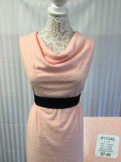 14345 French Terry Jacquard Knit