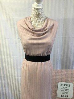 14342 Glitter Ribbed Knit Stripe