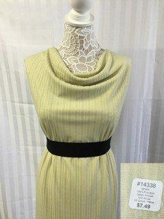 14338 Glitter Ribbed Knit Stripe
