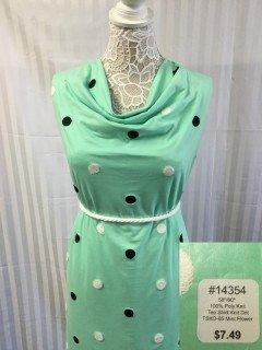 14354 Tee Shirt Knit Dot
