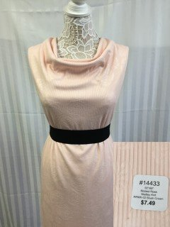14433 Ribbed Rose Medley Knit