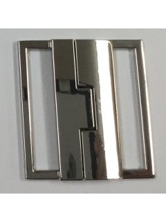 "Buckle 212 2"" Silver Metal Clasp"