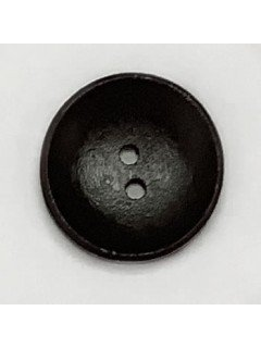 1494 Wooden Button Charcoal