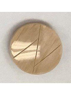 1510 Plastic Button Tan