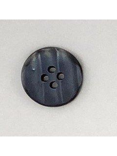 1517 Plastic Button Blue