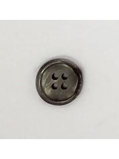 1520 Plastic Button Light Brown