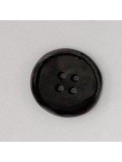1523 Plastic Button Black